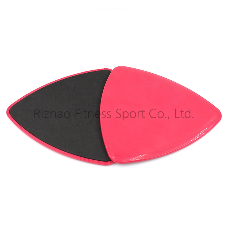 custom private logo exercise gliding discs triangle core sliders