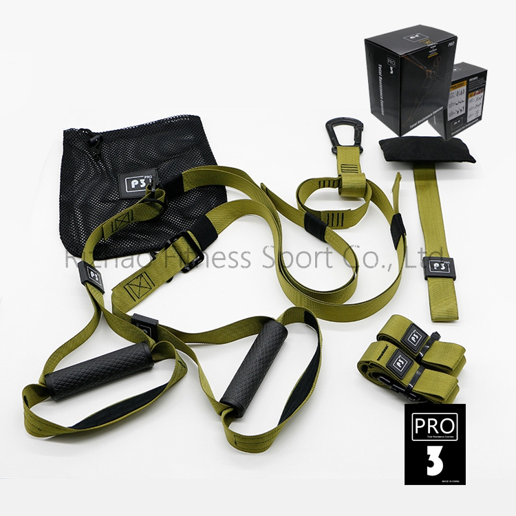 lifetime warranty color box adjustable suspension trainer kit
